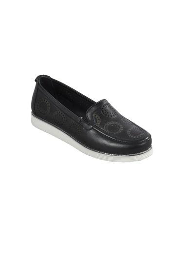 Voyager 7890 Siyah Kadın Günlük Ayakkabı Siyah